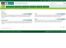 Il sito dell'Agenzia Regionale per l'Ambiente del Veneto